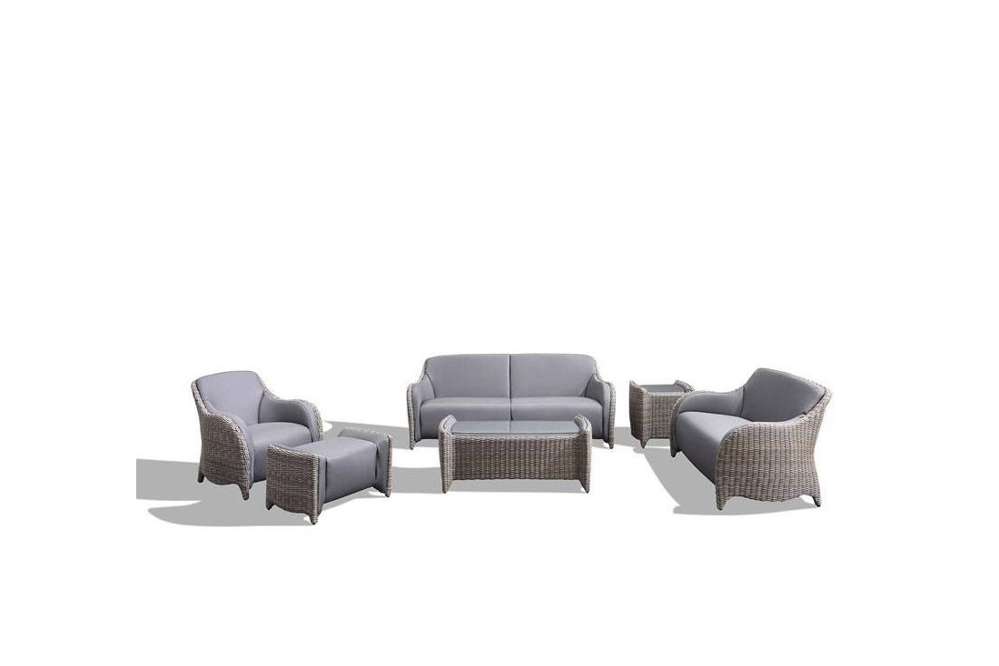 Luxor Large 3 Piece Living Suite Meteor