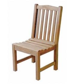 Classic teak diner chair