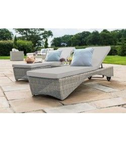 OXFORD 3 PIECE SUNLOUNGER SET