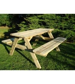 Sherwood FSC picnic table - 140cm