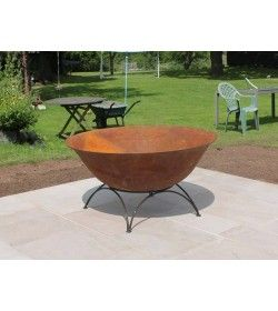 Cast Iron Fire Bowl 70cm