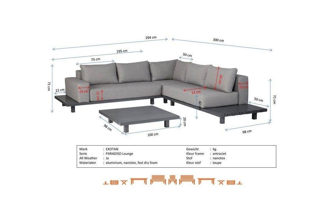 Paradiso Lounge Set