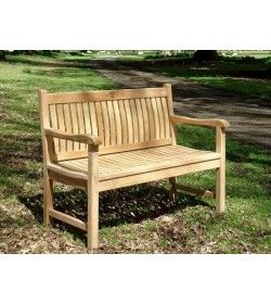 Westminster 1.2m Teak bench